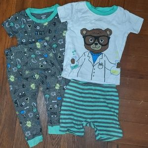 Carter's scientist / science jammies pajamas